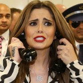 Cheryl Cole raises money for charity with ICAP and the Duchess of Cornwall