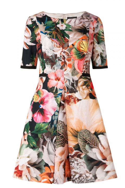 Ted Baker Timliaa Tangled Floral Print Dress