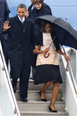 Michelle Obama attends Nelson Mandela�s memorial service with Barack Obama