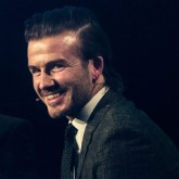 David Beckham shares his wise words on being an celebrity
