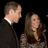 Kate Middleton giggles through date night with Prince William