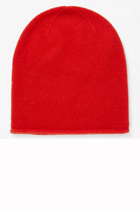 Cos bright red beanie hat