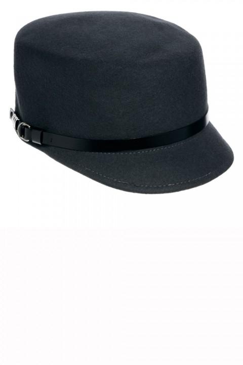 Whistles felt flat cap