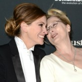 Julia Roberts and Meryl Streep are all giggles on the red carpet