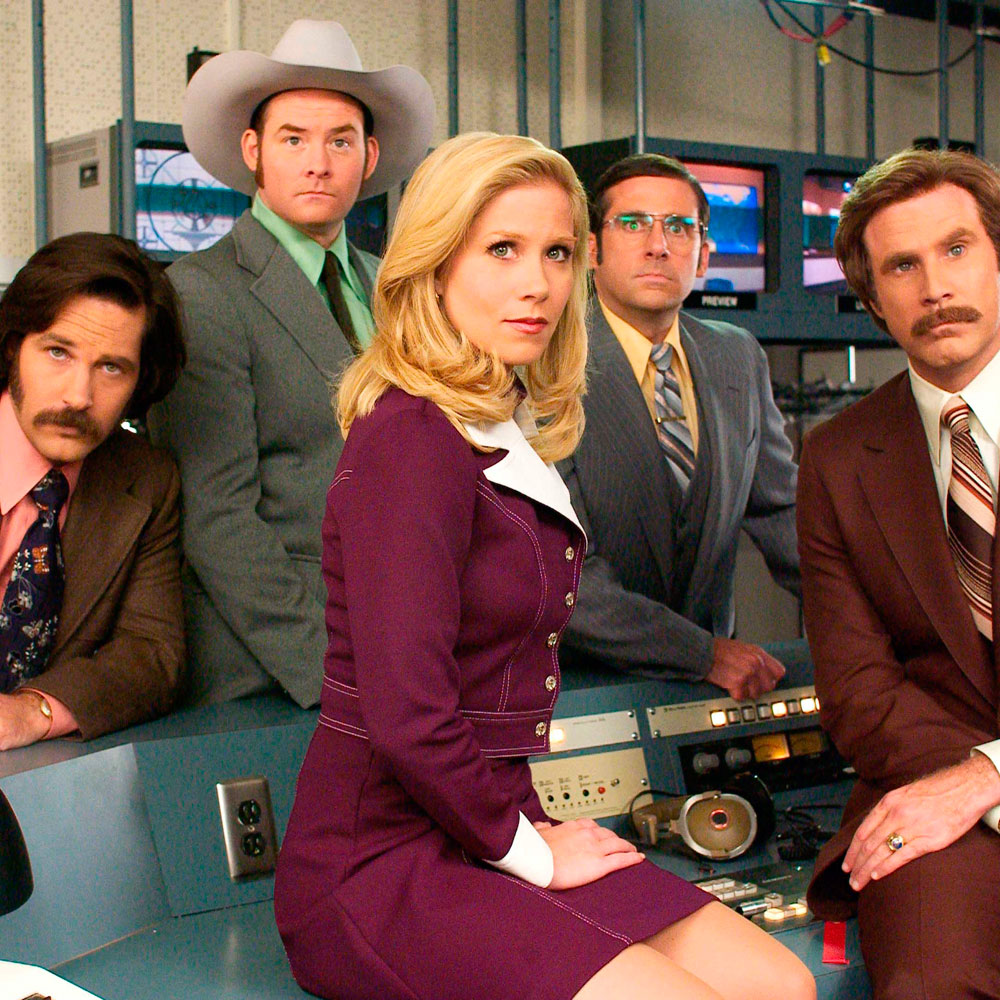 Veronica corningstone in the movie anchorman