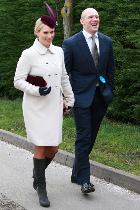 Zara Phillips And MikeTindall