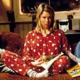 Bridget Jones Diary sofa scene in Bridget's flat