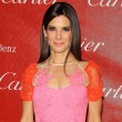 Sandra Bullock hits Palm Springs in pretty shades of pink