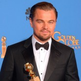 Leonardo DiCaprio bags the Best Actor gong at the 2014 Golden Globes