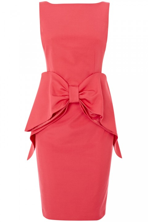 Coast Big Bow Dress