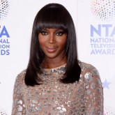 Naomi Campbell glams up the NTAs red carpet