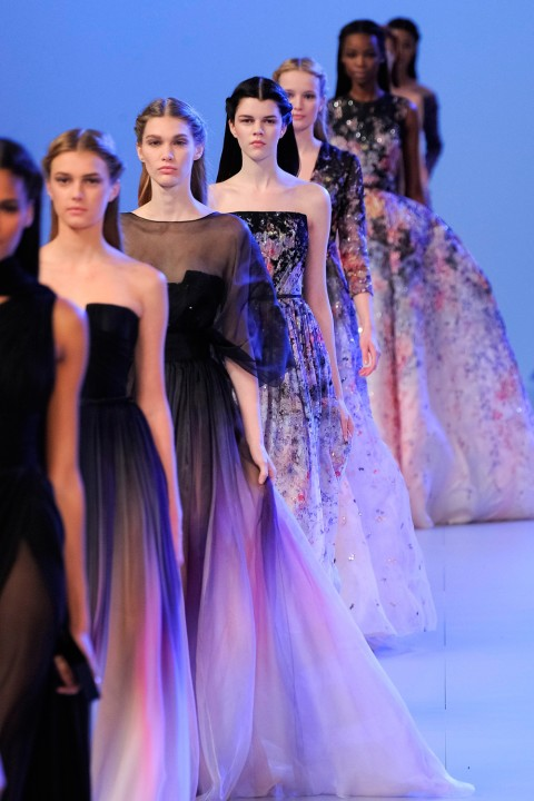 Elie Saab at Paris Haute Couture Fashion Week 2014