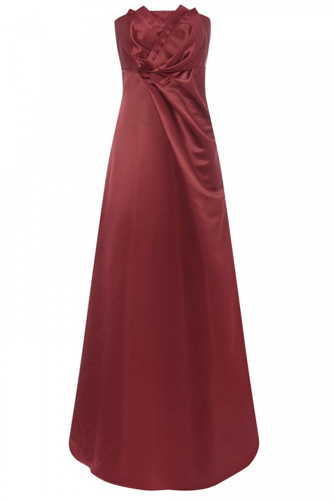 BHS Iris Merlot Long Dress