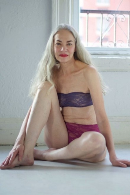 Meet the 62-year-old star of American Apparel lingerie