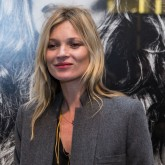 Kate Moss turns out for David Bailey's Hugo Boss exhibition