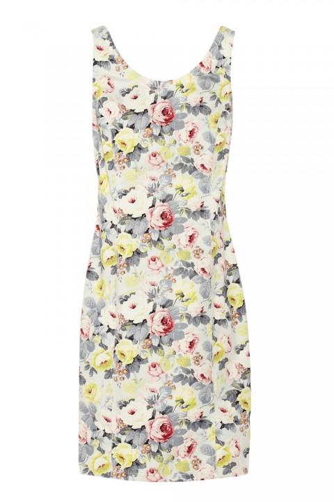 Miu Miu Printed Stretch Dress