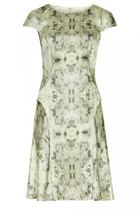 Reiss Skala Print Dress
