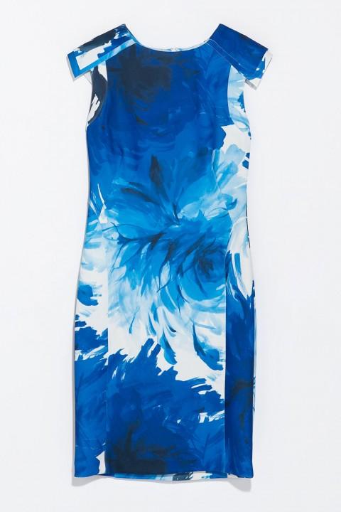 Zara Flower Print Shift Dress