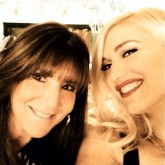 Gwen Stefani and baby shower host Shelli Azoff