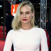 Diane Kruger wears a white Elie Saab dress at the Better Angels premiere.