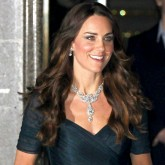 Kate Middleton repeats her Jenny Packham dress at the Portrait Gala 2014.