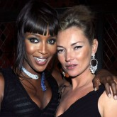 Naomi Campbell and Kate Moss T