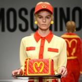 Moschino put McDonald's on the runway during Milan Fashion Week.