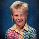 January Jones childhood picture