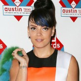 Lily Allen NME Awards 2014