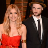 Sienna Miller Tom Sturridge Oscars party