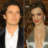 Miranda Kerr and Orlando Bloom, Oscars after-party