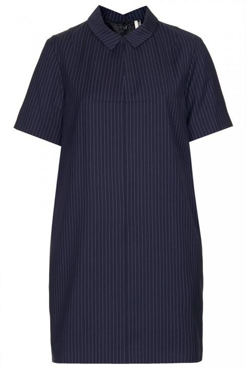 Topshop Modern Tailoring Pinstripe Dress