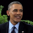 Barack Obama with Zach Galifianakis on Behind Two Ferns