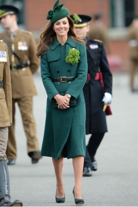 Kate Middleton St Patricks Day parade 2014