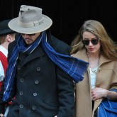 Johnny Depp Amber Heard New York City