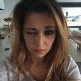 Cheryl Cole no makeup selfie