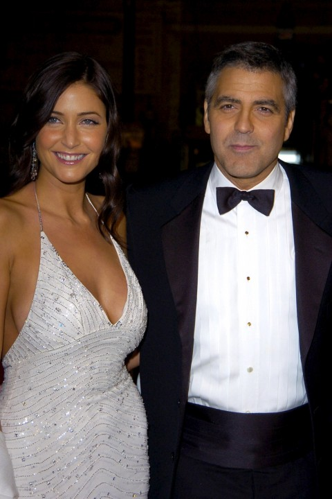 George Clooney And Lisa Snowdon
