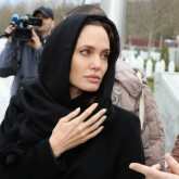 Angelina Jolie in Bosnia