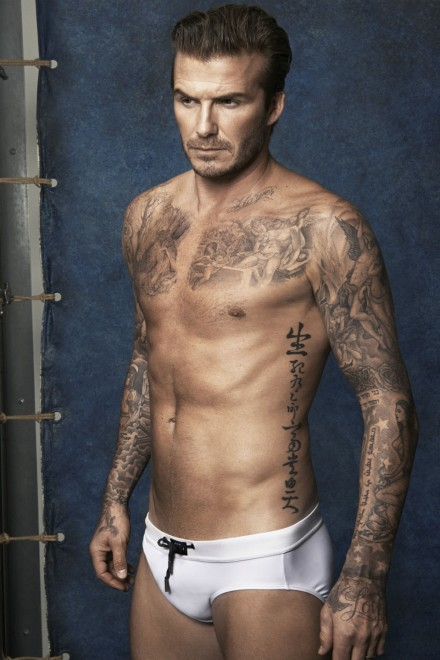 Stop What You're Doing And Look At These Nearly Naked Pictures Of David Beckham