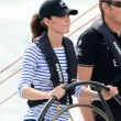 Kate Middleton sailing race New Zealand