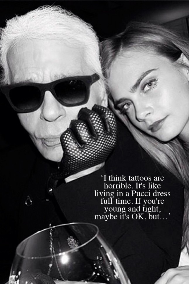 He Said What? Karl Lagerfeld's Most Infamous Quotes ...