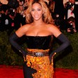 Beyonce at the Met Ball Gala 2013