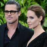 Angelina Jolie Brad Pitt Maleficent premiere