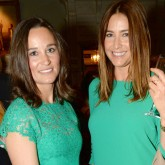 Pippa Middleton Lisa Snowdon matching dresses
