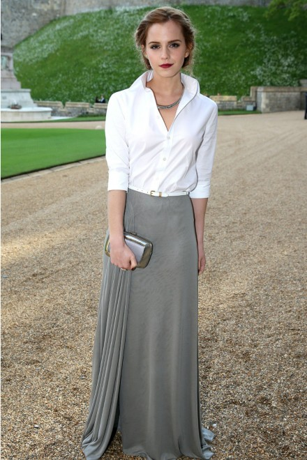 Emma Watson in Ralph Lauren at Royal Marsden Dinner
