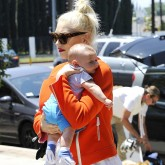 Gwen Stefani with baby