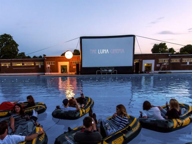 Outdoor Cinemas Marie Claire