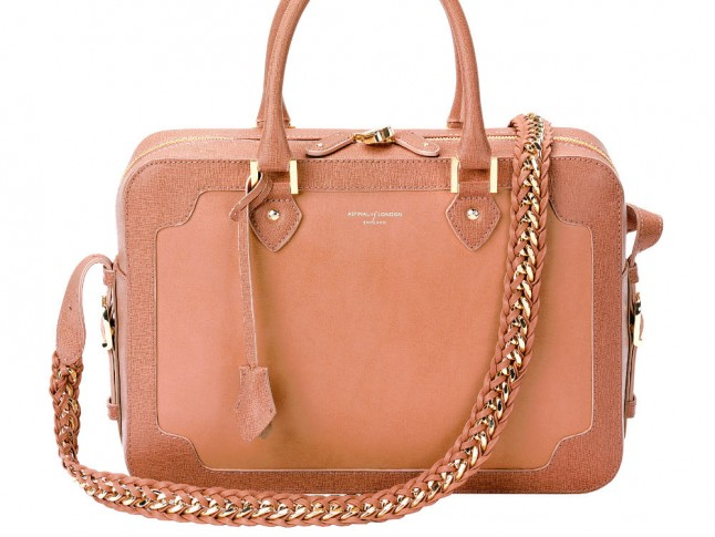 yellow leather prada bag - The British Handbag Brands You NEED To Know About | Marie Claire