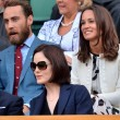 Pippa Middleton and James Middleton at Wimbledon 2014