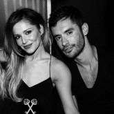 Cheryl Cole and Jean-Bernard Fernando Versini